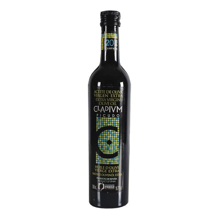 Cladivm Aceite de Oliva Virgen Extra Picudo • Frontal Botella 50 cl • AtracoM • Comercio Cashback