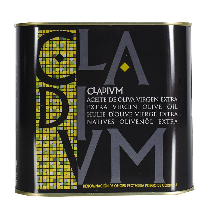 Cladivm Aceite de Oliva Virgen Extra • Frontal Lata 2 l • AtracoM • Comercio Cashback