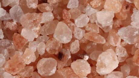 Cristales de Sal Rosa del Himalaya