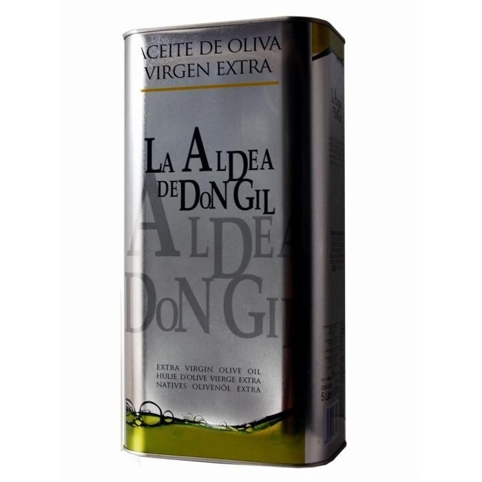 Aldea Don Gil Aceite de Oliva Virgen Extra Lata 5L • AtracoM la compra redonda!! • Comercio Cashback