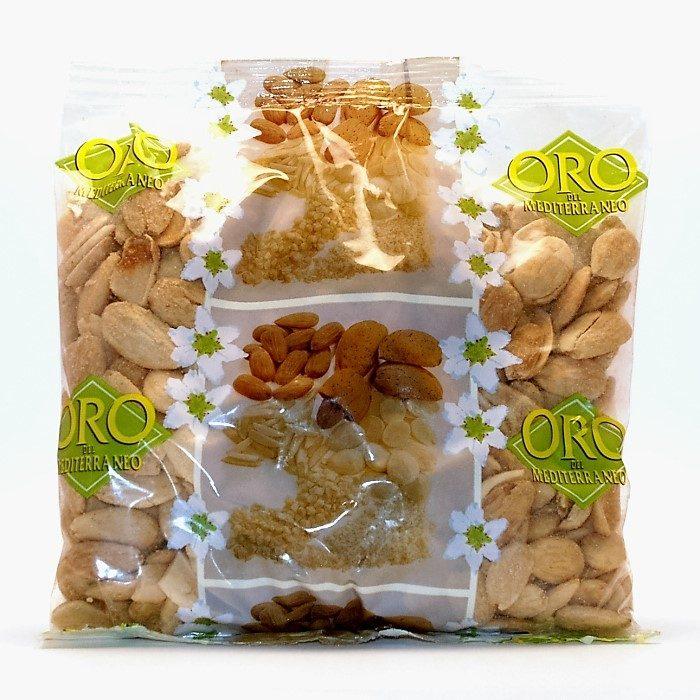 Almendra comuna frita con sal Oro del Mediterráneo Bolsa • AtracoM la compra redonda!! • Comercio CashBack