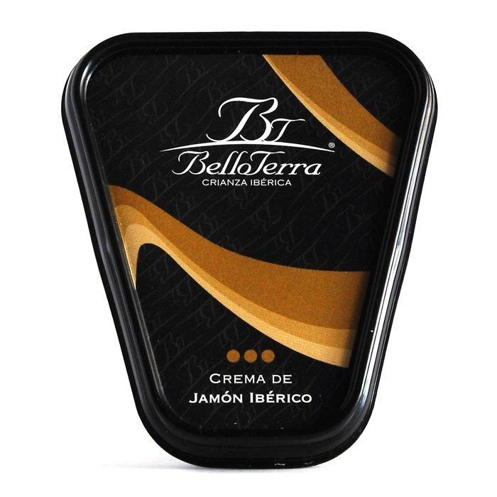 Belloterra Crema de Jamón Ibérico • Frontal Tarrina de 180g • AtracoM • Comercio Cashback