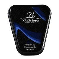Belloterra Crema de Salchichón Ibérico • Frontal Tarrina de 180g • AtracoM • Comercio Cashback