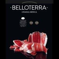 Belloterra Jamón de Bellota 100% Ibérico Cortado a Cuchillo • Estuche 100 g