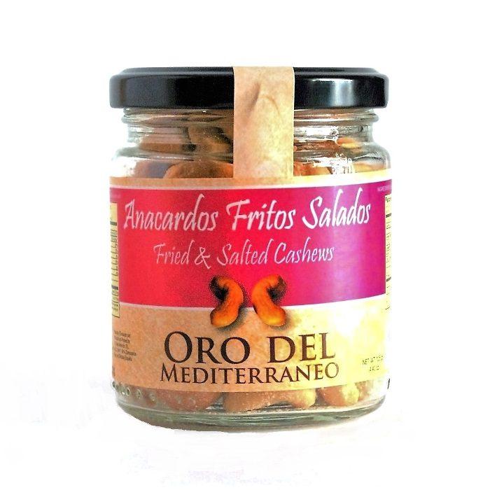 Anacardo Frito con Sal Oro del Mediterráneo • Tarro 125g • Frontal • AtracoM la compra redonda!! • Comercio Cashback