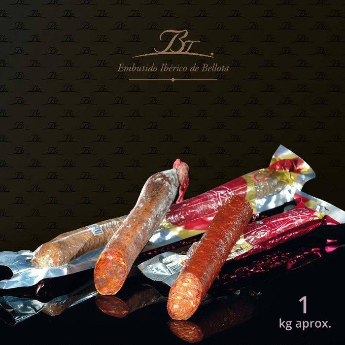 Belloterra Chorizo Cular de Bellota Ibérico 1 kg • Presentación y Corte • AtracoM • Comercio Cashback