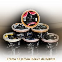 Belloterra Crema de Jamón Ibérico • Tarrina de 500 g • AtracoM • Comercio Cashback
