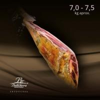 Belloterra Jamón de Bellota Ibérico Premium • Corte • Pieza de 7,0-7,5 kg • AtracoM • Comercio Cashback