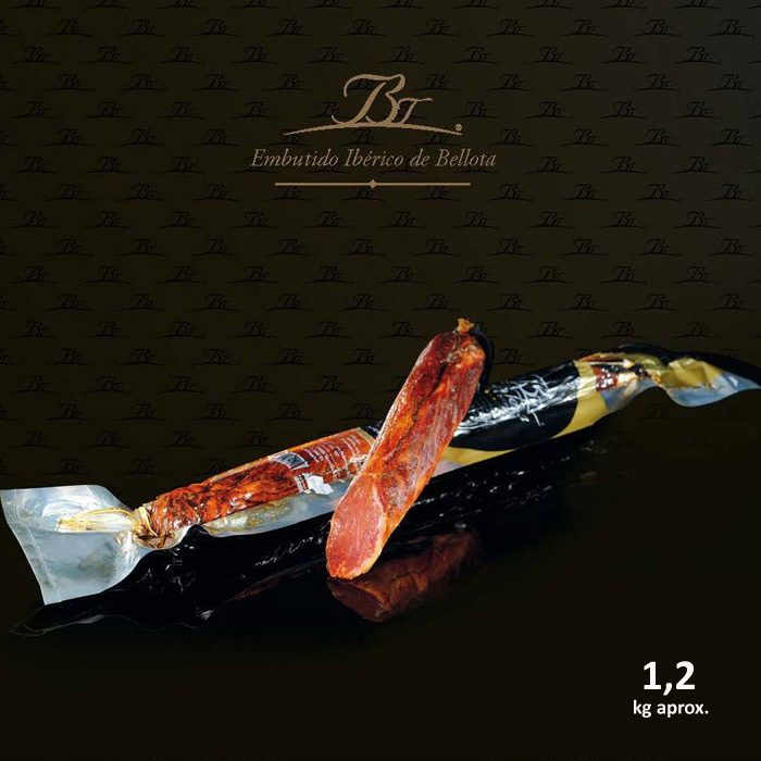 Belloterra Lomo de Bellota Ibérico 1,2 kg • Presentación y Corte • AtracoM • Comercio Cashback