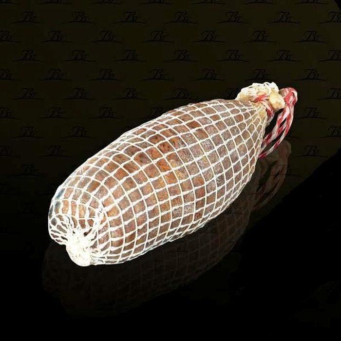 Belloterra Morcón de Bellota Ibérico 1,2 kg • Presentación • AtracoM • Comercio Cashback