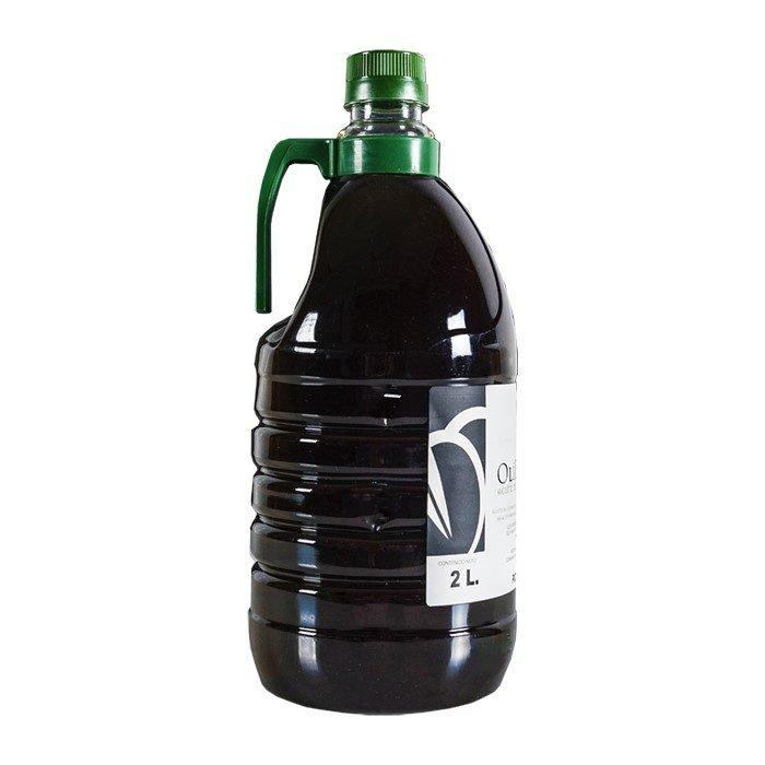 Olibrácana Aceite de Oliva Virgen Extra Picudo Selección • PET 2l • Lateral • AtracoM • Comercio Cashback