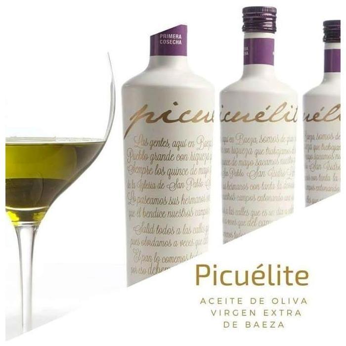 Picuélite Aceite de Oliva Virgen Extra Picual de Baeza • Composición • AtracoM • Comercio Cashback