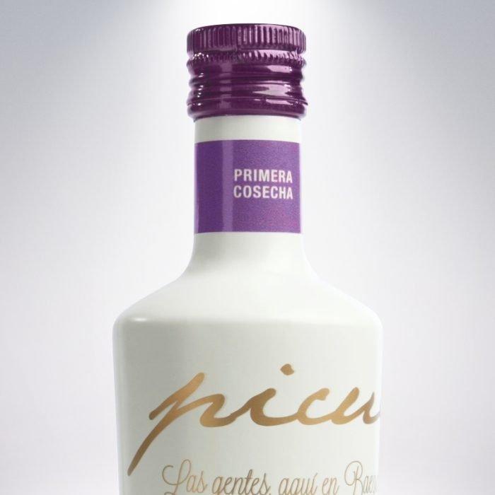 Picuélite Aceite de Oliva Virgen Extra Picual de Baeza • Detalle • AtracoM • Comercio Cashback