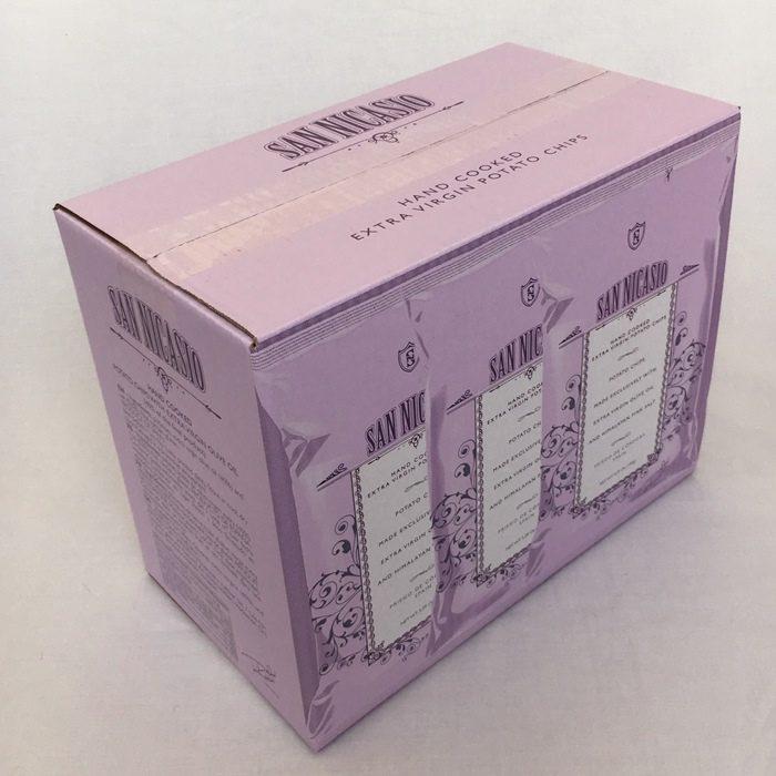 San Nicasio Patatas Fritas en Aceite de Oliva Virgen Extra • Caja de 3 bolsas de 150 g • AtracoM Comercio CashBack