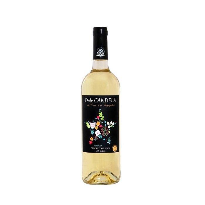 Vino Blanco Dale Candela DO Rueda • Botella de 75 cl