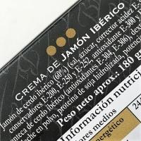 Belloterra Crema de Jamón Ibérico • Detalle Tarrina de 180g • AtracoM • Comercio Cashback