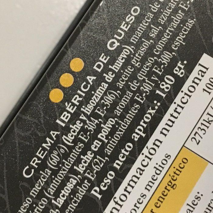 Belloterra Crema Ibérica de Queso • Detalle Tarrina de 180g • AtracoM • Comercio Cashback