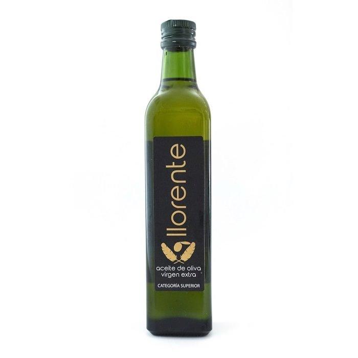 Llorente Aceite de Oliva Virgen Extra Botella 50 cl • AtracoM Comercio Cashback