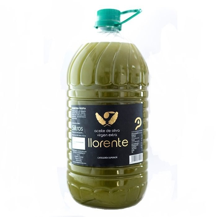 Llorente Aceite de Oliva Virgen Extra Sin Filtrar PET 5 l • AtracoM Comercio Cashback