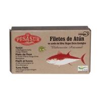 Pesasur Atún en Aceite de Oliva Virgen Extra Ecológico Lata 125 g • AtracoM Comercio Cashback