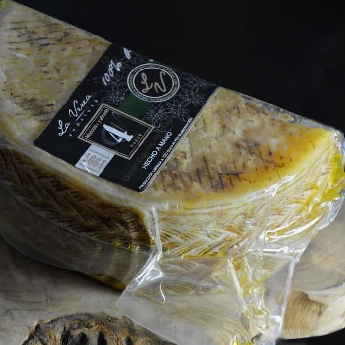 La Verea Queso de Vaca de Leche Cruda con Aceite de Oliva Virgen Extra • AtracoM Comercio Cashback