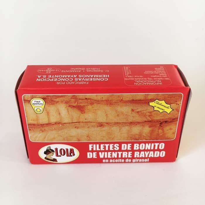 Lola Bonito de Vientre Rayado en Aceite de Girasol • AtracoM Comercio Cashback