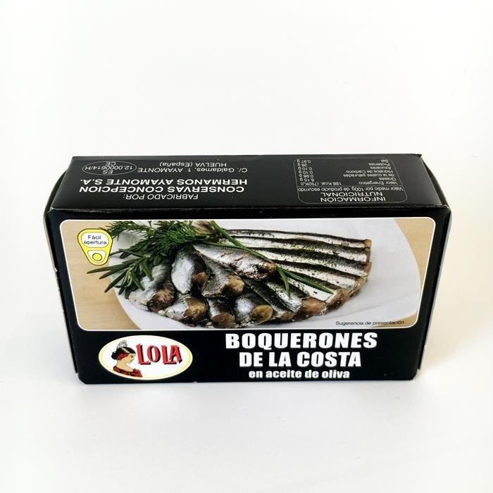Lola Boquerones de la Costa Aceite Oliva AtracoM Comercio Cashback