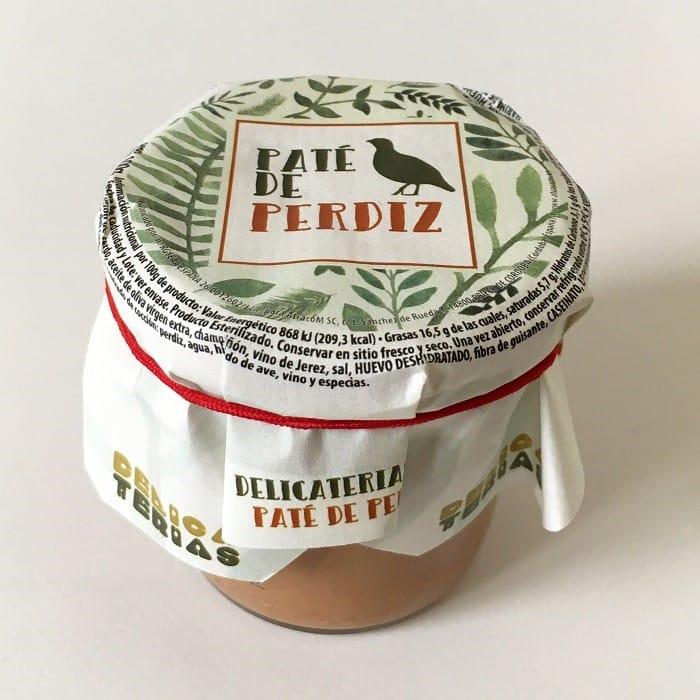 AtracoM Paté de Perdiz • Tarro 100 g • AtracoM Comercio Cashback World