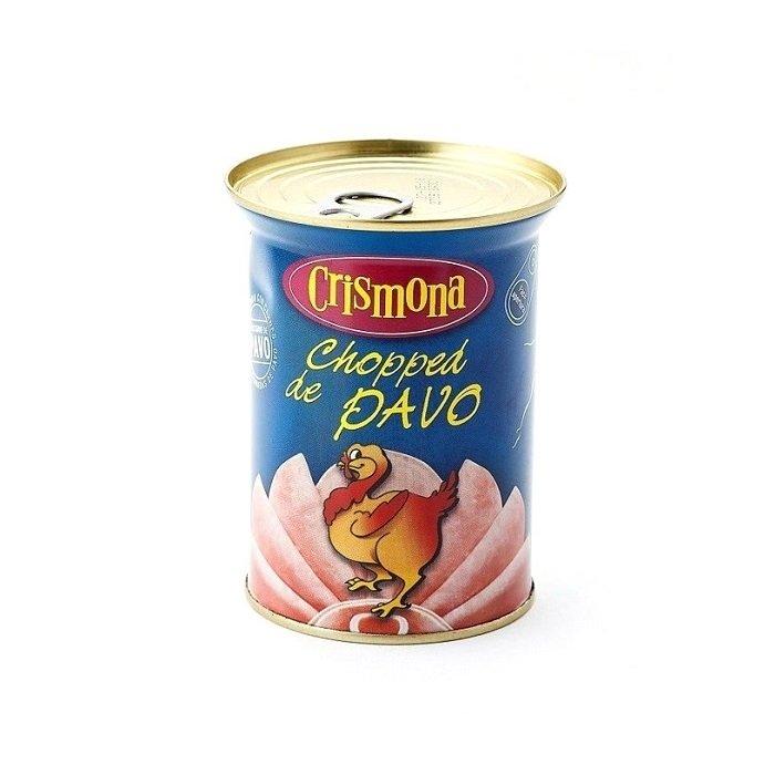 Crismona Chopped de Pavo Lata 400 g • AtracoM Comercio Cashback