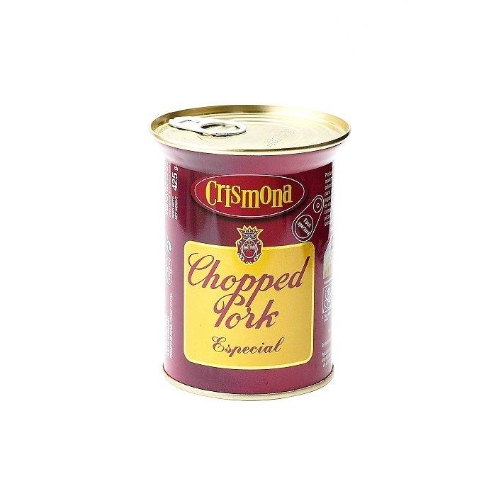 Crismona Chopped Pork Especial Lata 425 g • AtracoM Comercio Cashback