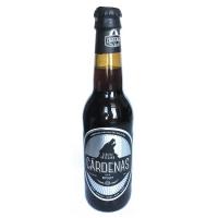 Cárdenas Stout Cerveza Artesana Negra • Botella 33 cl