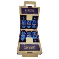 Cárdenas Pasión Cerveza Artesana • Caja 6 Botellas 33 cl
