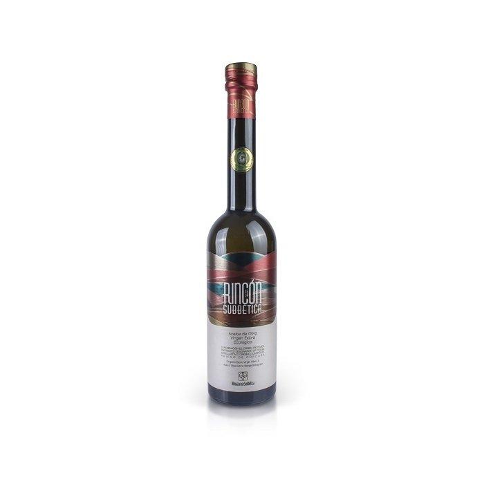 Rincón de la Subbética Aceite de Oliva Virgen Extra Ecológico Botella 25 cl • AtracoM Comercio CasbackWorld